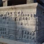 Base marmorea dell'Obelisco Egizio