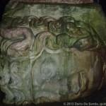 Colonna con la testa di Medusa