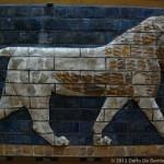 Mosaico di leone dalla Porta di Ishtar a Babilonia
