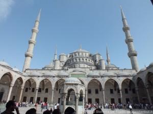 Facciata Moschea Blu
