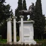 Il calco del cavallo della Basilica di S. Marco
